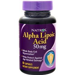 Natrol Alpha Lipoic Acid (50mg) 60 caps
