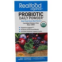 Country Life Real Food Organics - Probiotic Daily Powder 3.1 oz