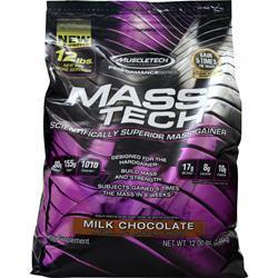 Muscletech Mass Tech - Performance Series Milk Chocolate 12 lbs