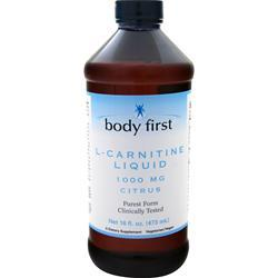 Body First L-Carnitine Liquid (1000mg) Citrus 16 fl.oz