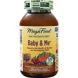 Megafood Baby & Me Multi 120 tabs