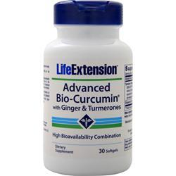 Life Extension Advanced Bio-Curcumin with Ginger & Turmerones 30 sgels