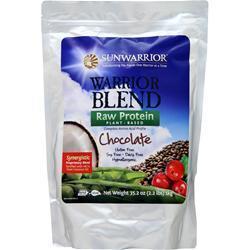 SunWarrior Warrior Blend - Raw Vegan Protein Chocolate 1 kg