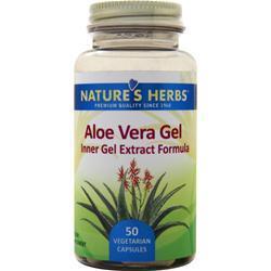Nature's Herbs Aloe Vera Gel 50 vcaps