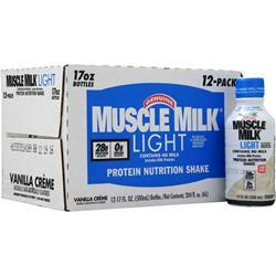 Cytosport Muscle Milk Light RTD Vanilla Creme (17 fl oz) 12 bttls