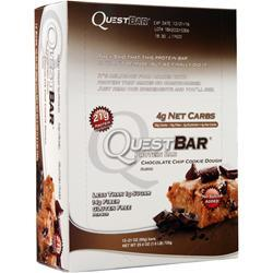 Quest Nutrition Quest Bar Choc. Chip Cookie Dough 12 bars
