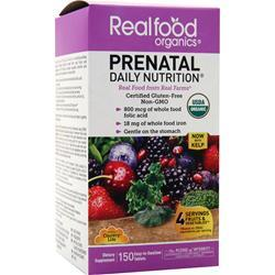 Country Life Real Food Organics - Prenatal Daily Nutrition 150 tabs