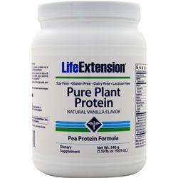 Life Extension Pure Plant Protein Natural Vanilla 540 grams