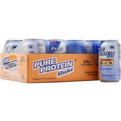 Worldwide Sports Ultra Pure Protein Shake (11 fl.oz.) Vanilla Cream 12 cans