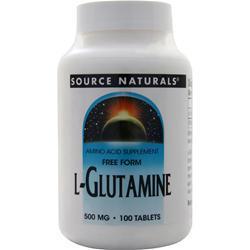 Source Naturals L-Glutamine (500mg) 100 tabs