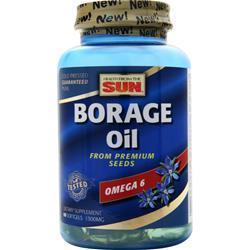 Health From The Sun Borage Oil (300mg) 60 sgels