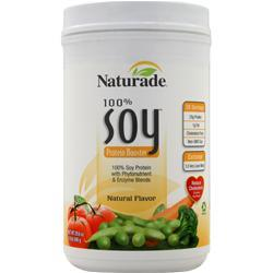 Naturade 100% Soy Protein Booster Natural 30 oz