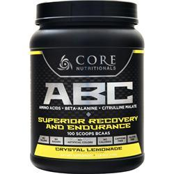 Core Nutritionals ABC - Superior Recovery and Endurance Lemonade 1 kg
