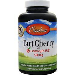 Carlson Tart Cherry with CherryPure (500mg) 180 vcaps
