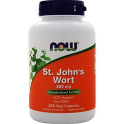 Now St. John's Wort (300mg) 250 caps