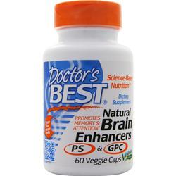 Doctor's Best Natural Brain Enhancers 60 vcaps