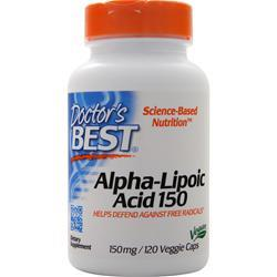 Doctor's Best Alpha-Lipoic Acid (150mg) 120 caps