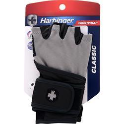 Harbinger Classic Wristwrap Glove Black/Grey (S) 2 glove