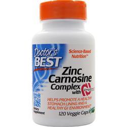Doctor's Best Zinc Carnosine Complex with PepZin GI 120 vcaps