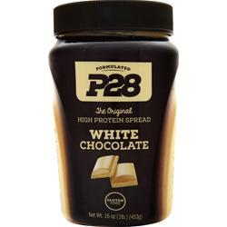 P28 Foods The Original High Protein Peanut Spread White Chocolate 1 lbs