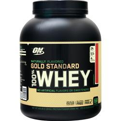 Optimum Nutrition 100% Whey Protein - Gold Standard (Natural) Strawberry 4.8 lbs