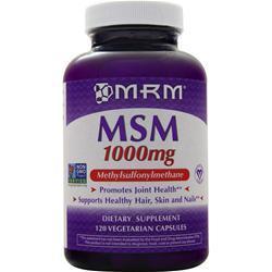 MRM MSM (1000mg) 120 vcaps