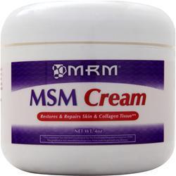 MRM MSM Cream 4 oz