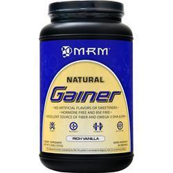 MRM All Natural Gainer Rich Vanilla 3.3 lbs