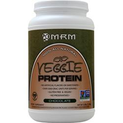 MRM Veggie Protein - 100% All Natural Chocolate 2.5 lbs