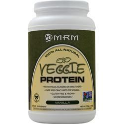 MRM Veggie Protein - 100% All Natural Vanilla 2.5 lbs