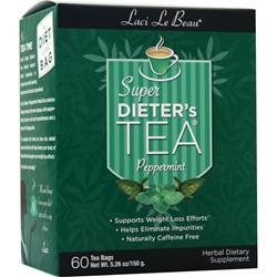 Laci Le Beau Super Dieter's Tea Cleanse Peppermint 60 pckts