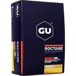 Gu Roctane Ultra Endurance Energy Gel Pineapple BEST BY 6/17 24 pckts