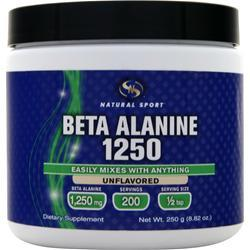 STS Beta Alanine 1250 Natural Flavor 250 grams