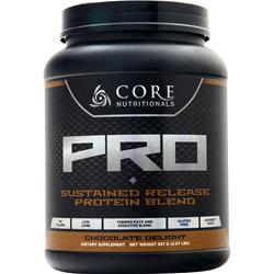 Core Nutritionals Core Pro - Advanced Sustained Release Protein Blend Chocolate Delight 2.07 lbs