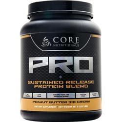 Core Nutritionals Core Pro - Advanced Sustained Release Protein Blend Peanut Butter Ice Cream 2.07 lbs