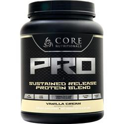 Core Nutritionals Core Pro - Advanced Sustained Release Protein Blend Vanilla Cream 2.07 lbs