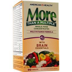 American Health More Than A Multiple - With Brain Essentials 90 tabs