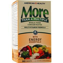 American Health More Than A Multiple - With Energy Essentials 90 tabs