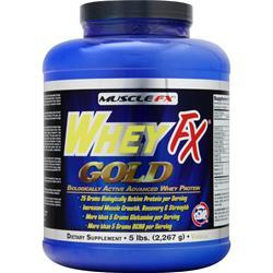 Muscle Fx WheyFx Gold Vanilla 5 lbs
