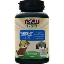 Now Pets Weight Management for Dogs 90 tabs