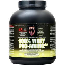 Healthy N Fit 100% Whey Pro-Amino Vanilla Ice Cream 5 lbs