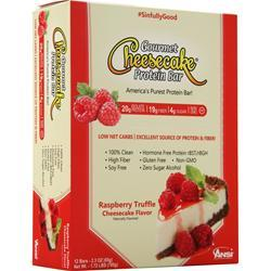 ANSI Gourmet Cheesecake Protein Bar Raspberry Truffle 12 bars