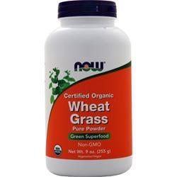 Now Wheat Grass Powder 9 oz