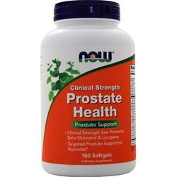 Now Prostate Health 180 sgels