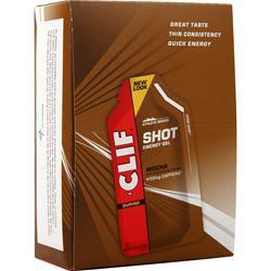 Clif Bar Clif Shot Mocha + Caffeine 24 pckts