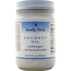 Body First Coconut Oil - Certified Organic 12 fl.oz