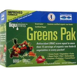 Trace Minerals Research Greens Pak Berry 30 pckts
