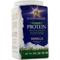 SunWarrior Classic Protein - Raw Vegan Vanilla 1 kg