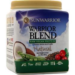 SunWarrior Warrior Blend - Raw Protein Natural 500 grams