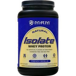 MRM Isolate Whey Protein French Vanilla 1.99 lbs